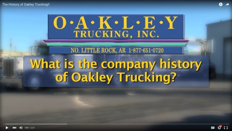 History of Oakley Trucking